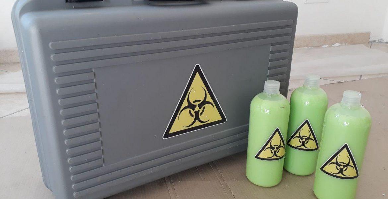 Borsa Materiale radioattivo